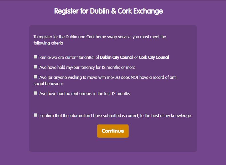 Confirm eligibility example