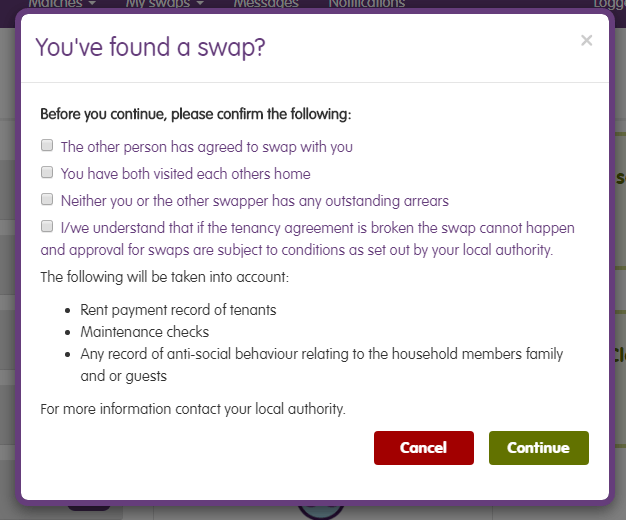 Youve found a swap form